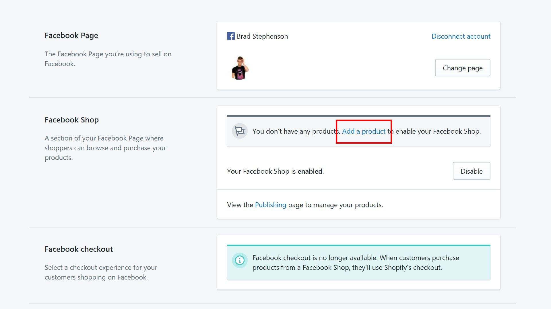 How to Set up a Shopify Store on Facebook
