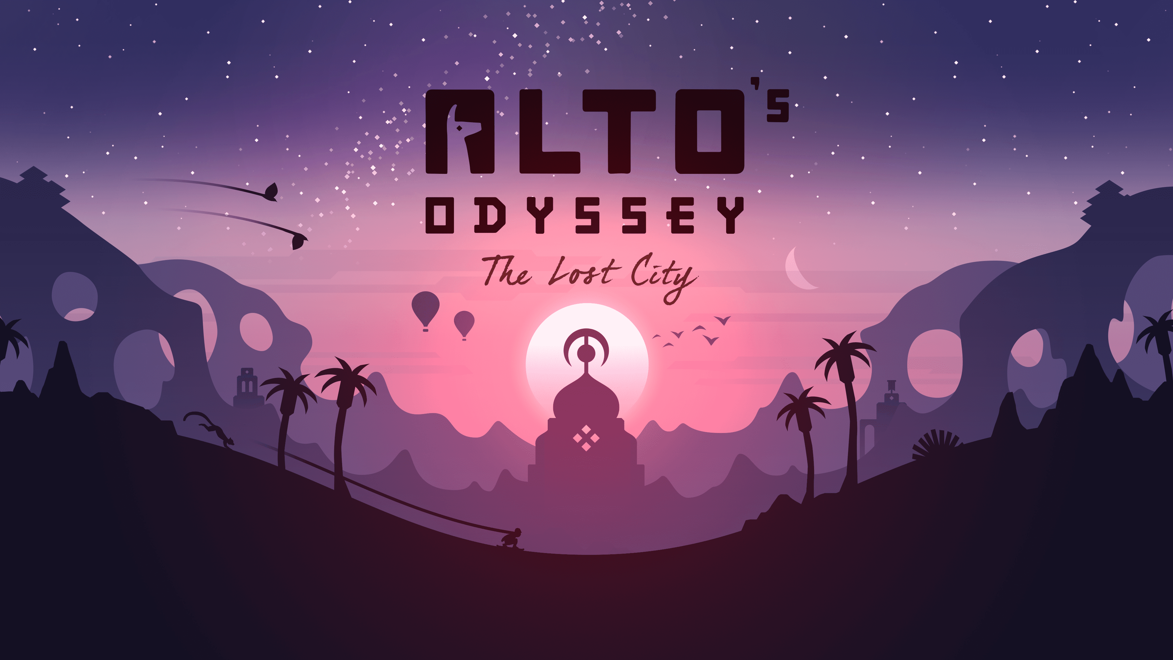 Cover art from 'Alto's Odyssey: The Lost City'