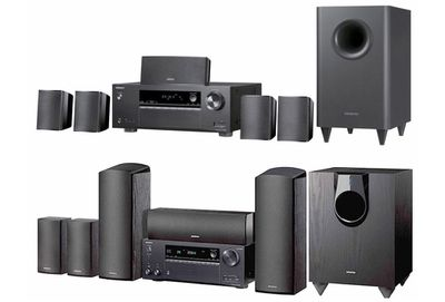 onkyo's ht-s3800 and 7800 all-in-one home theater systems