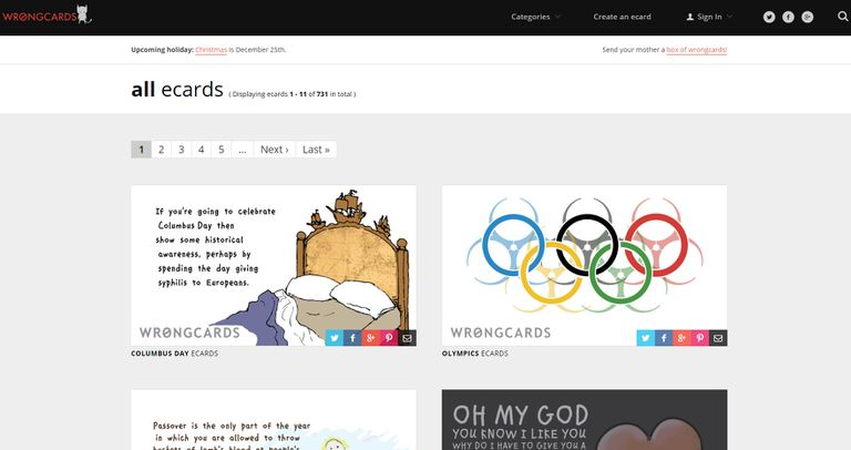 12 places to find completely free ecards