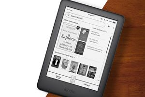 Kindle reader showcasing new software changes