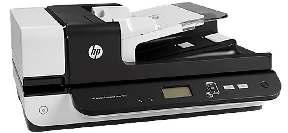 Best All Around Hp Scanjet Enterprise Flow 7500 Flatbed Scanner