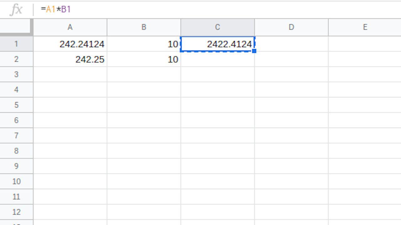 Google Sheets copy formula