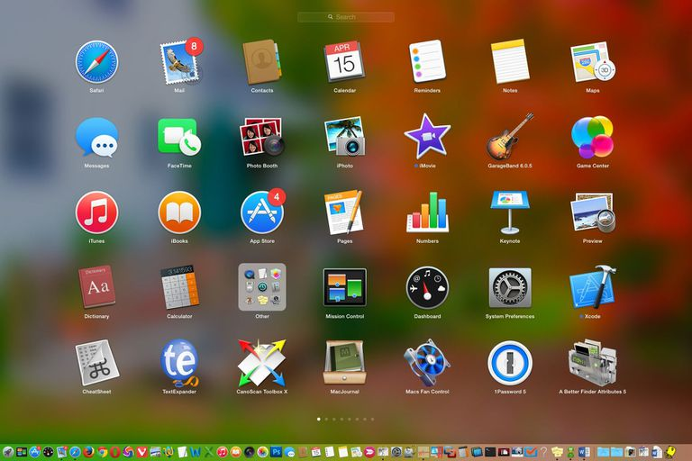 Launchpad on OS X Yosemite