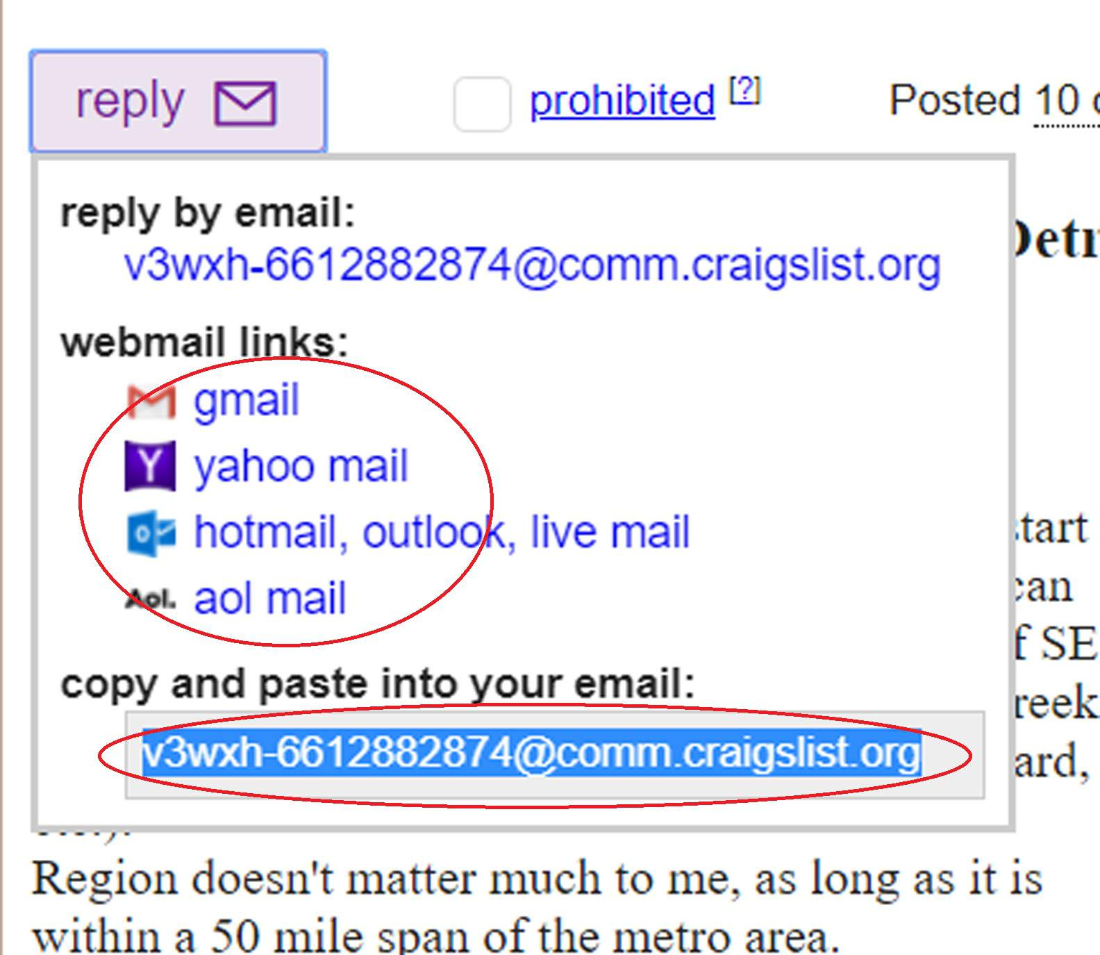 How to Reply to Craigslist Emails