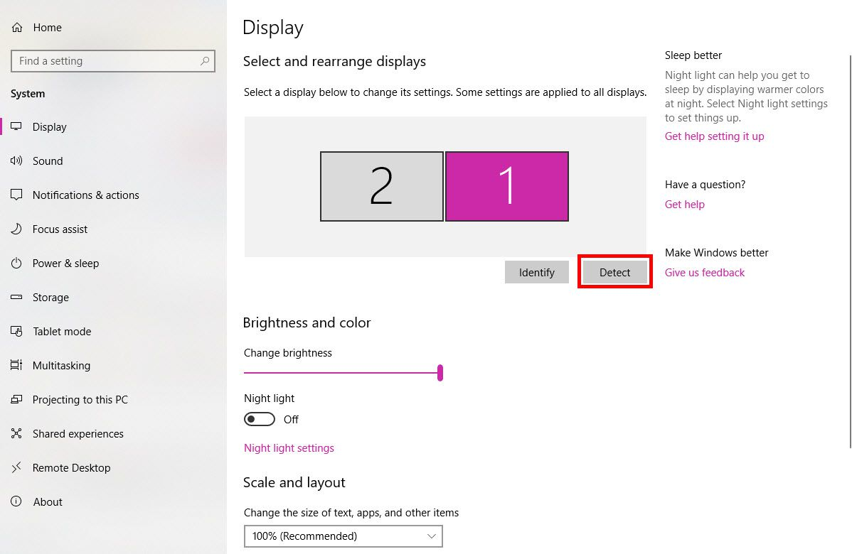 how to set dual monitor in windows 10 ▷▷ a c i