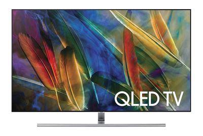 Samsung Q7F Series Flat QLED Ultra HD TV Example