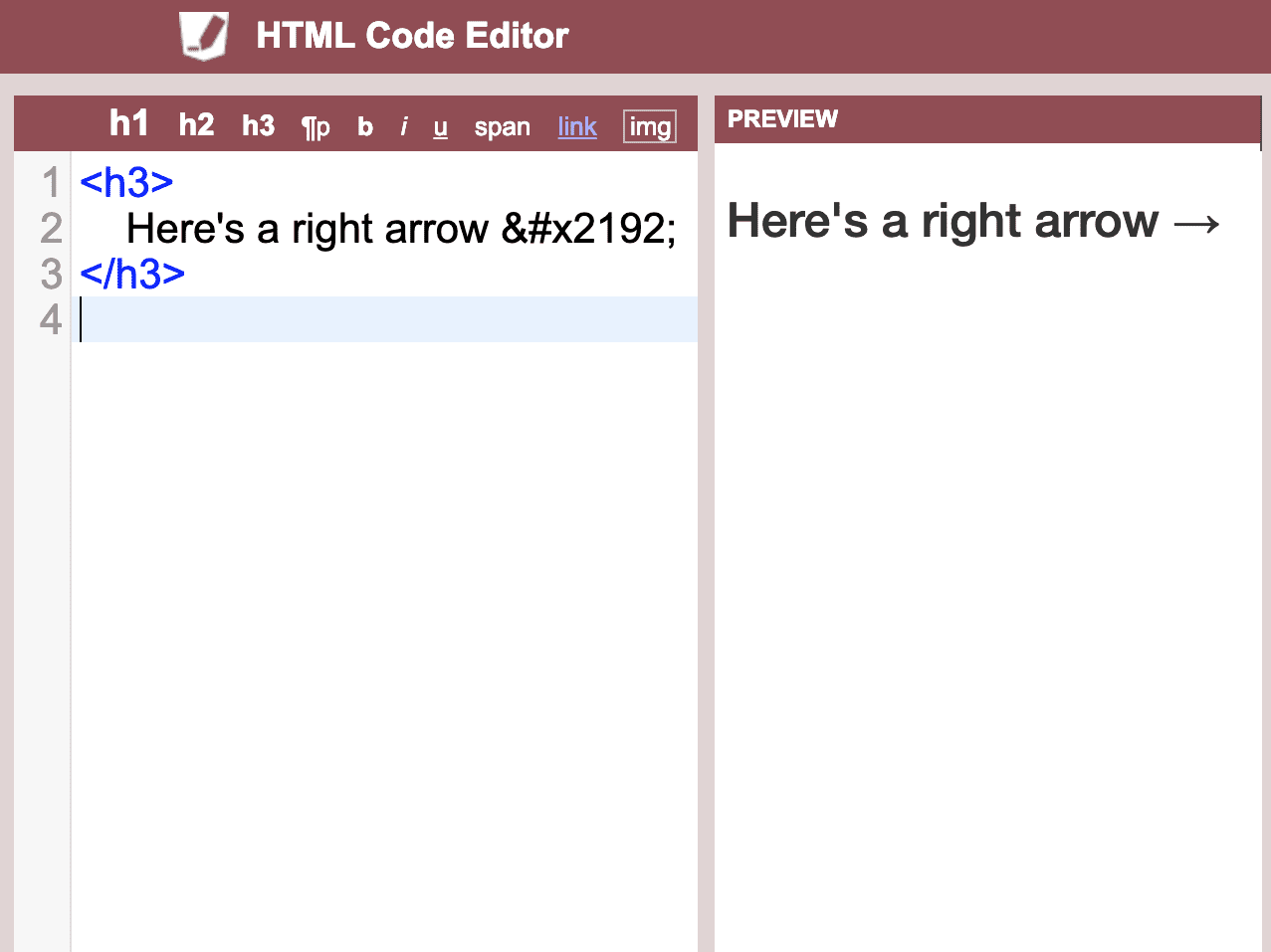 How to Insert Arrow Symbols on Your Web Page