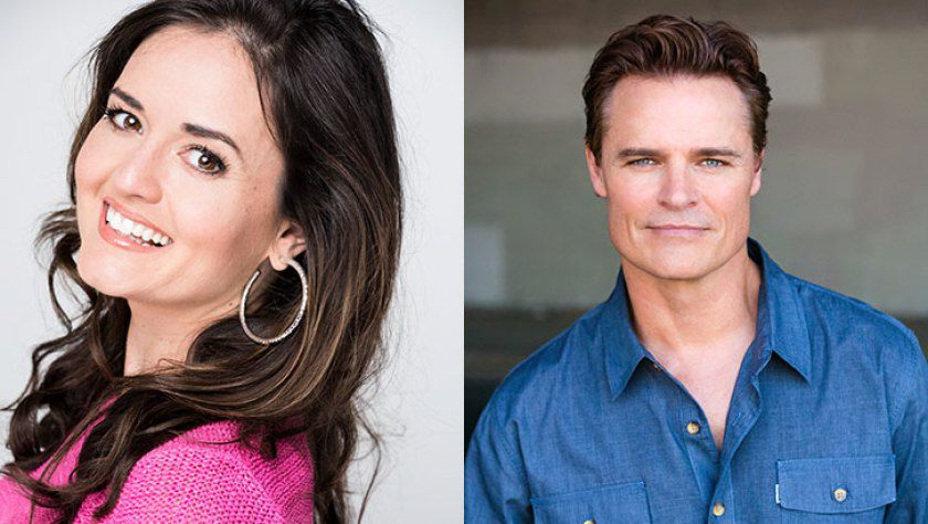 Danica McKellar and Dylan Neal