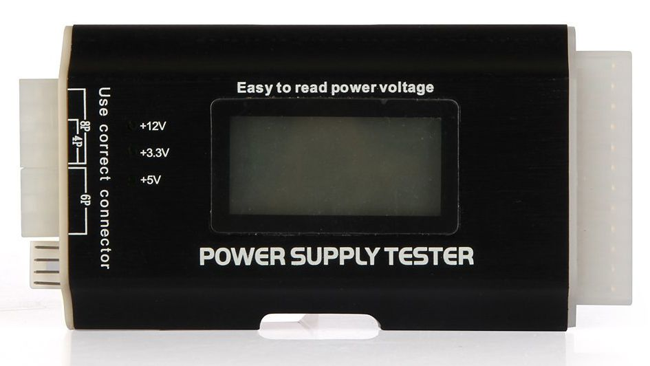How to Use a Power Supply Tester to Test a PSU