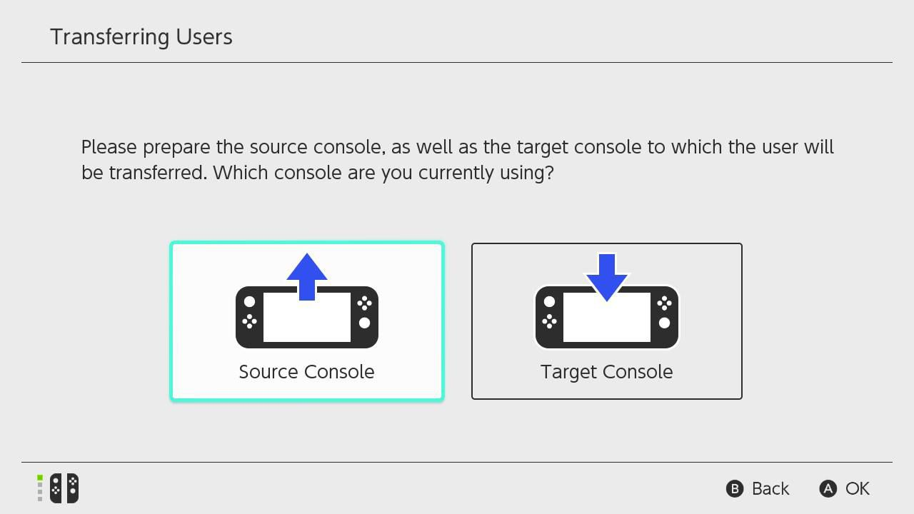 Select Source Console.