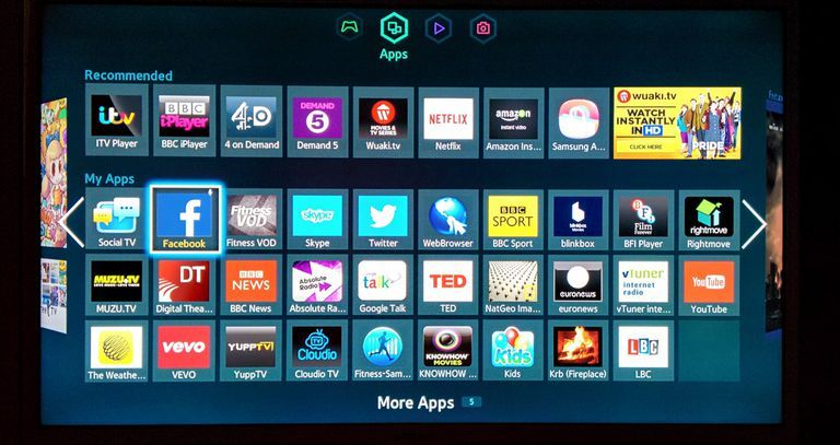movies and tv shows app samsung