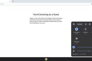 Chromebook Guest mode