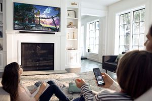 Vizio TVs do not require a remote to turn on or off.