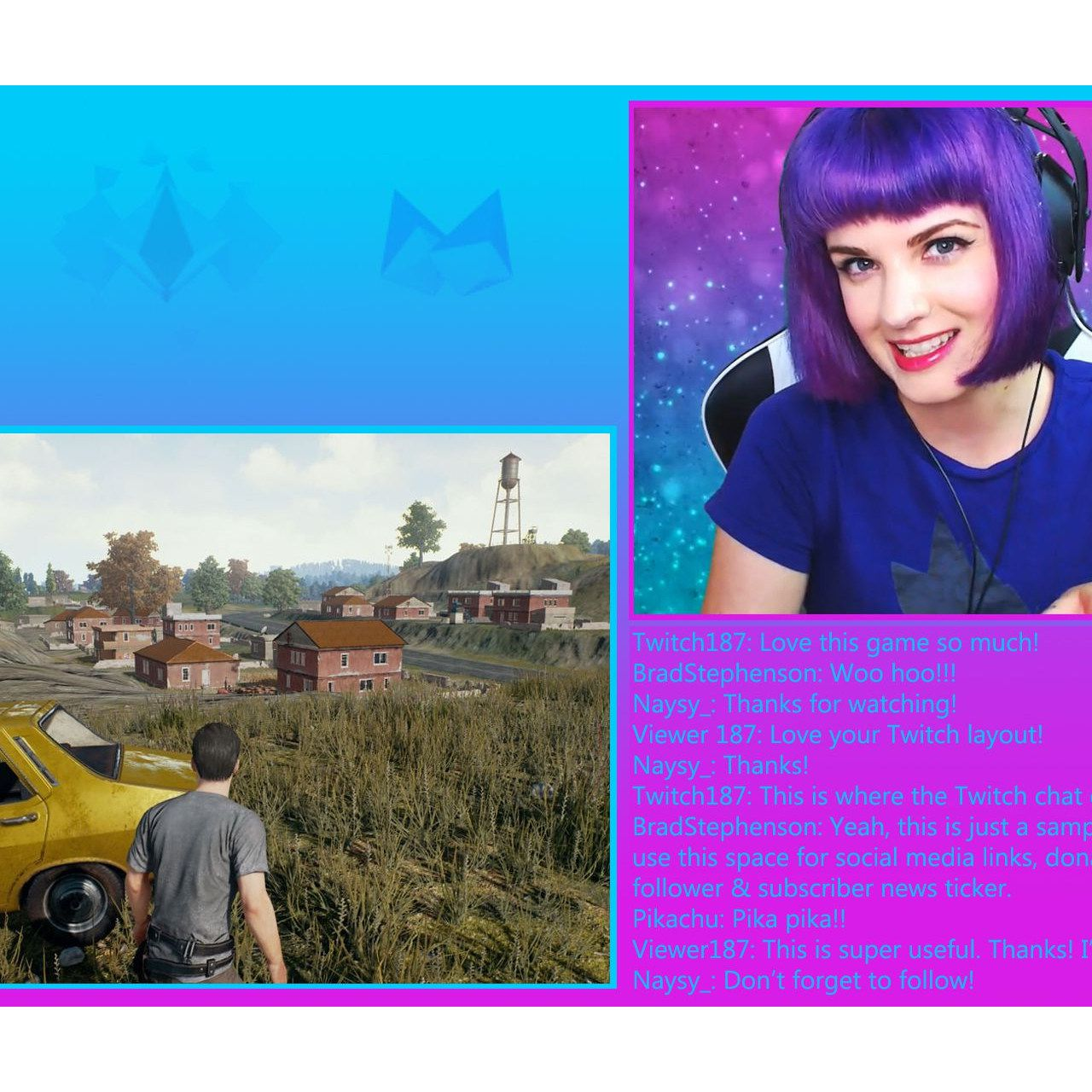 How to Create a Cool Twitch Layout in Photoshop