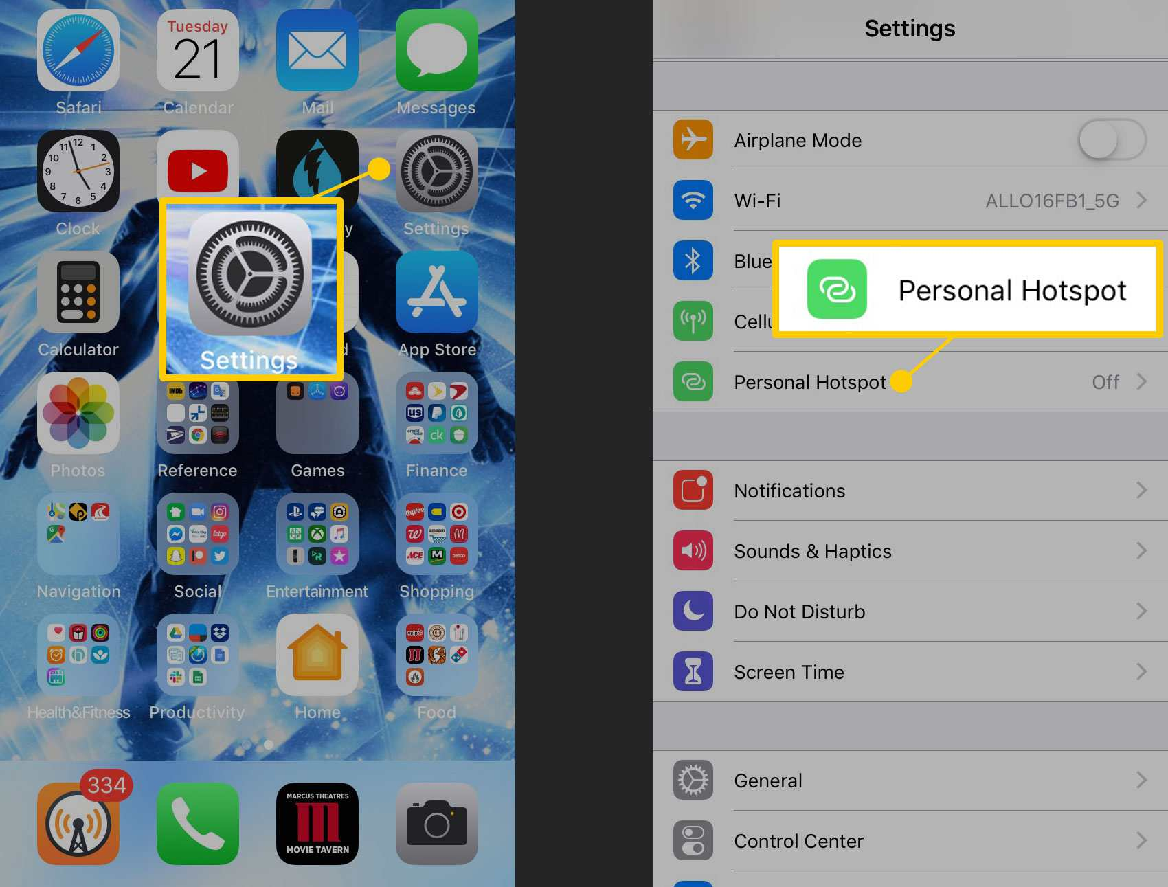 How to Change Your iPhone Personal Hotspot Password