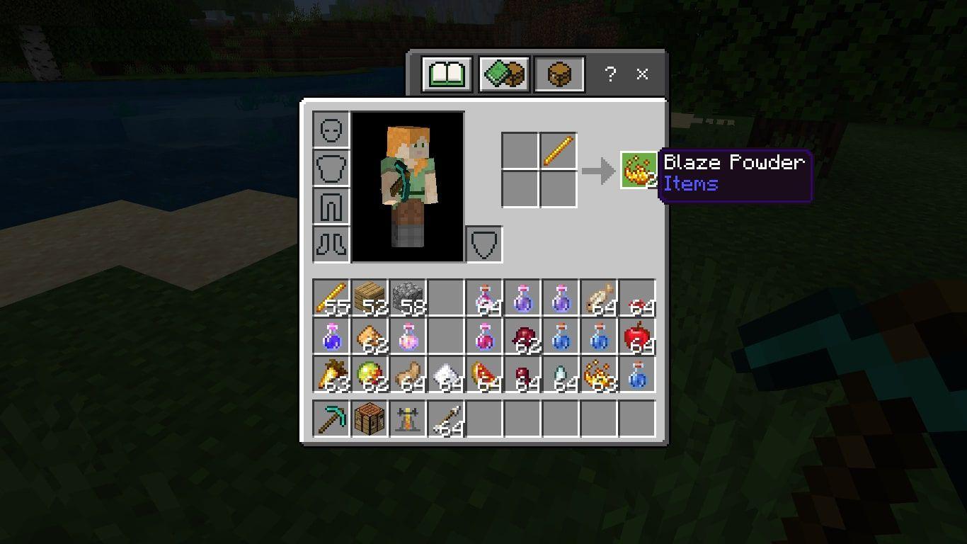Blaze Powder in Minecraft