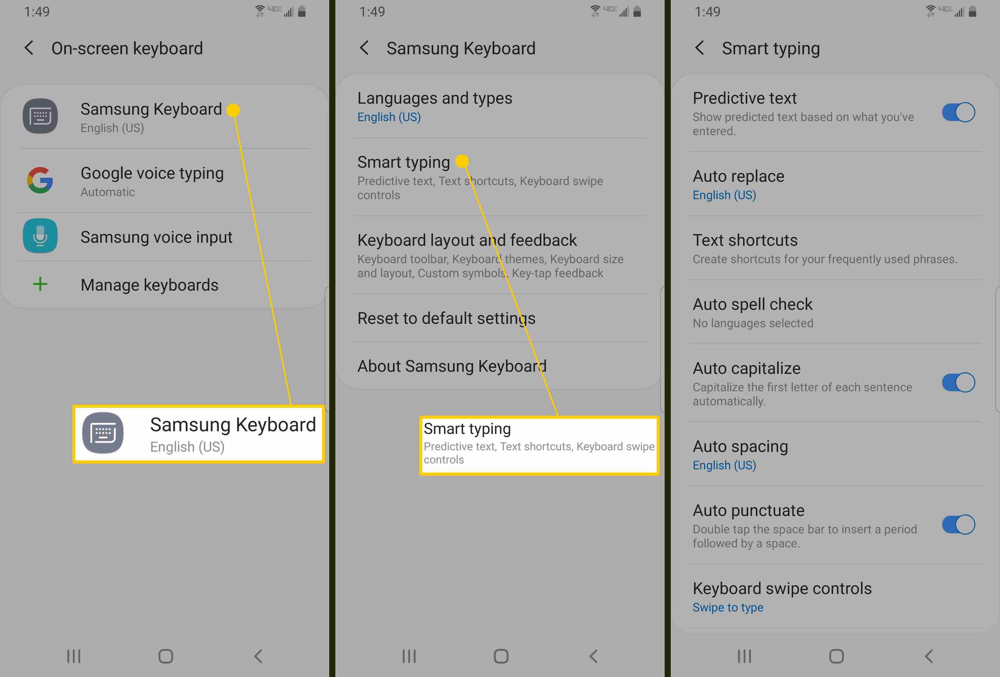 How to Use Autocorrect on Android