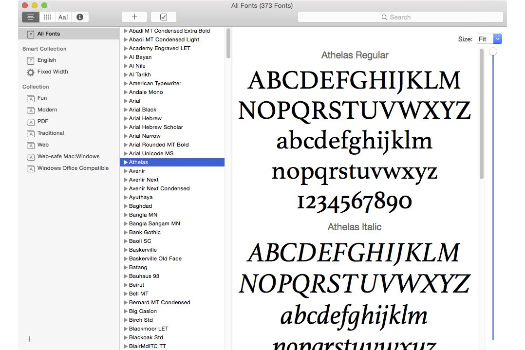 Use Font Book to Install and Delete Fonts on Your Mac