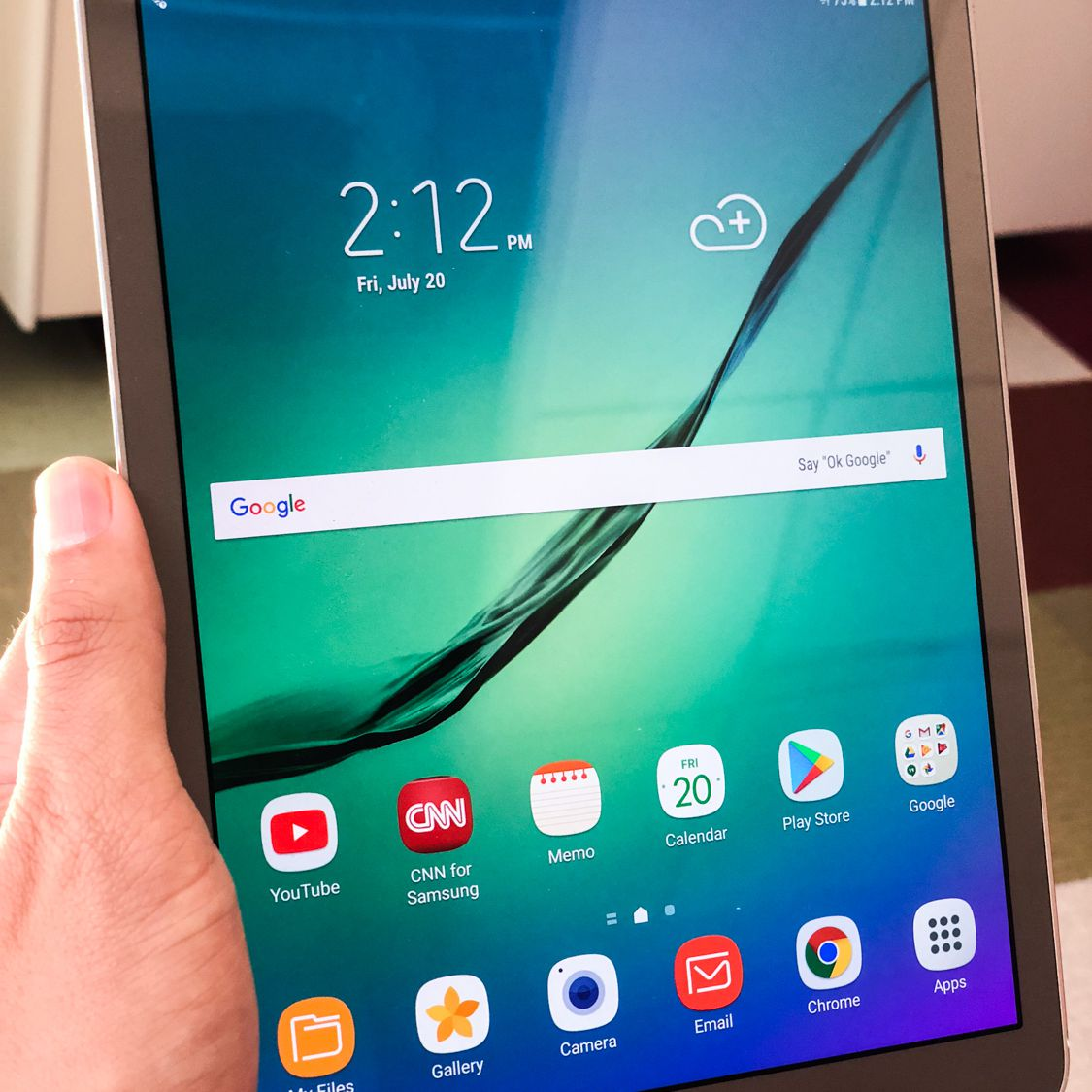 """One of our testers specifically commented on the Samsung Galaxy Tab S2's speed, saying that both the touchscreen and the apps had """"great responsiveness."""