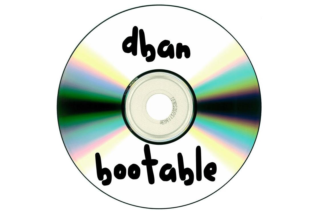 DBAN burned disc