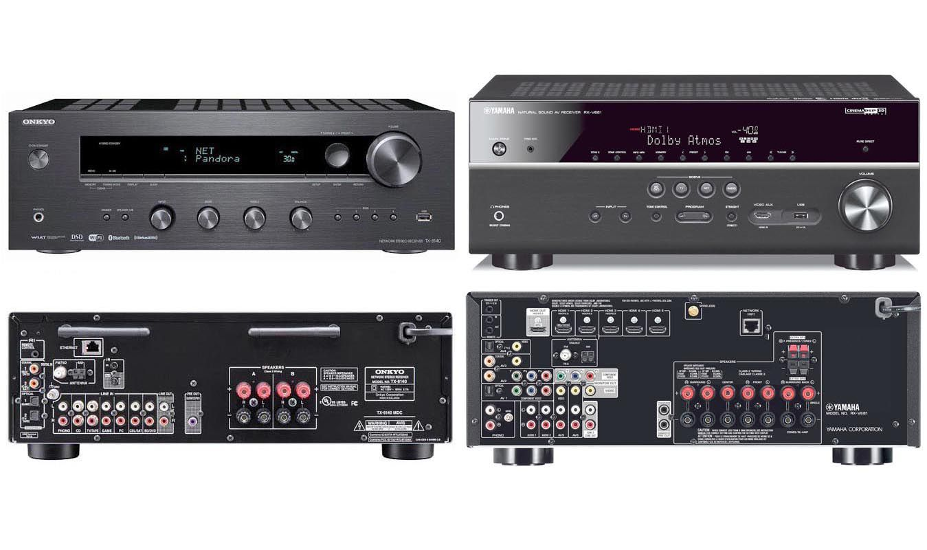 Guide To Home Theater Receivers And Surround Sound Making 51 Amplifier Receiver Vs Stereo Which Is Best For You