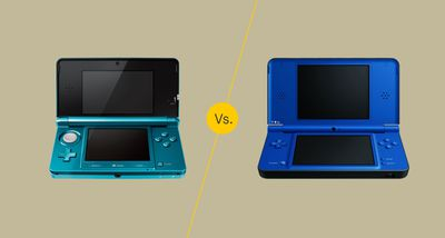 Nintendo 3DS vs DSi