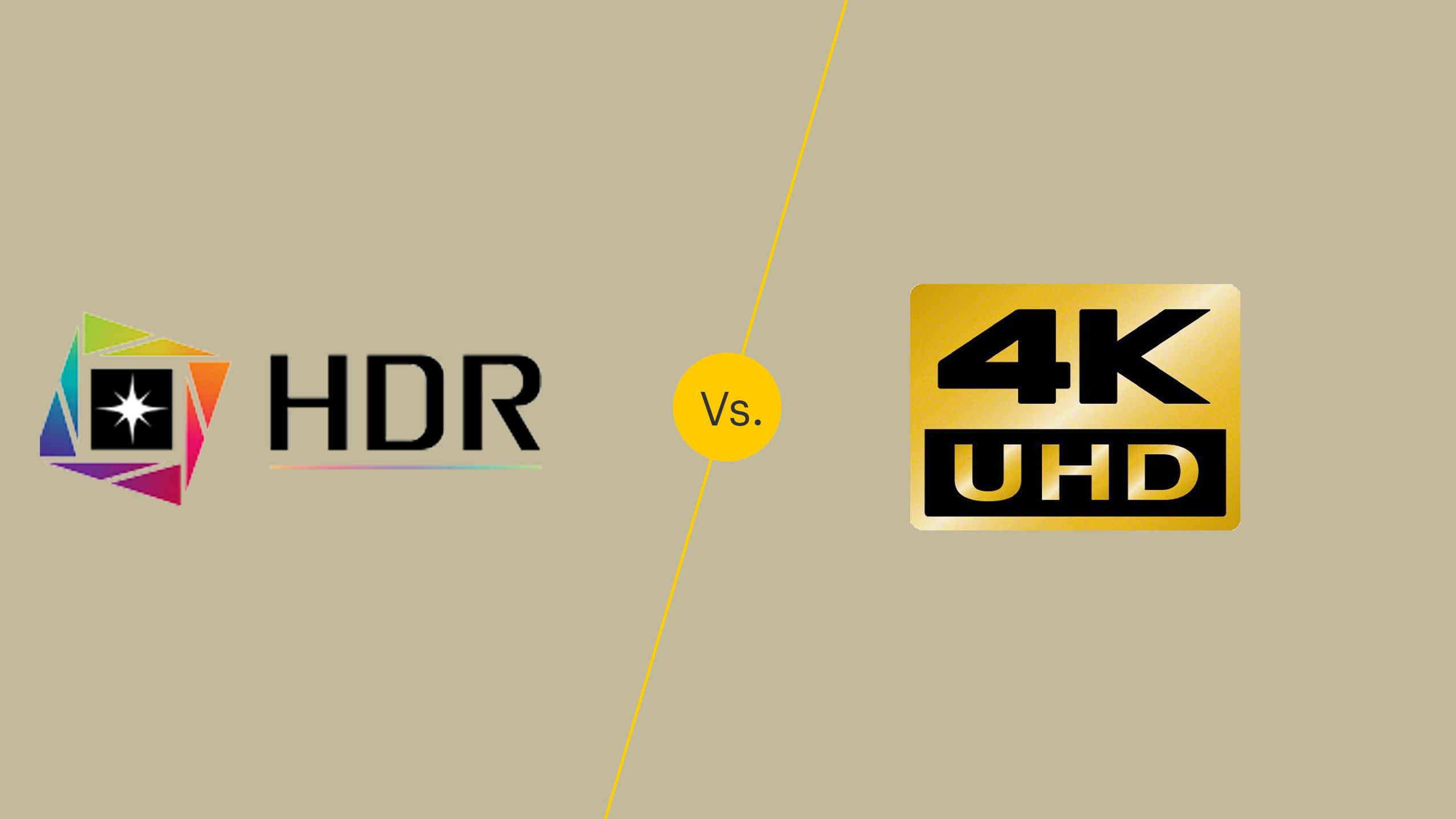 Hdr Vs 4k What S The Difference