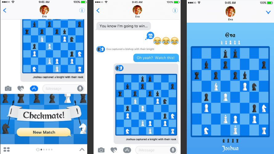 Checkmate! for iMessage