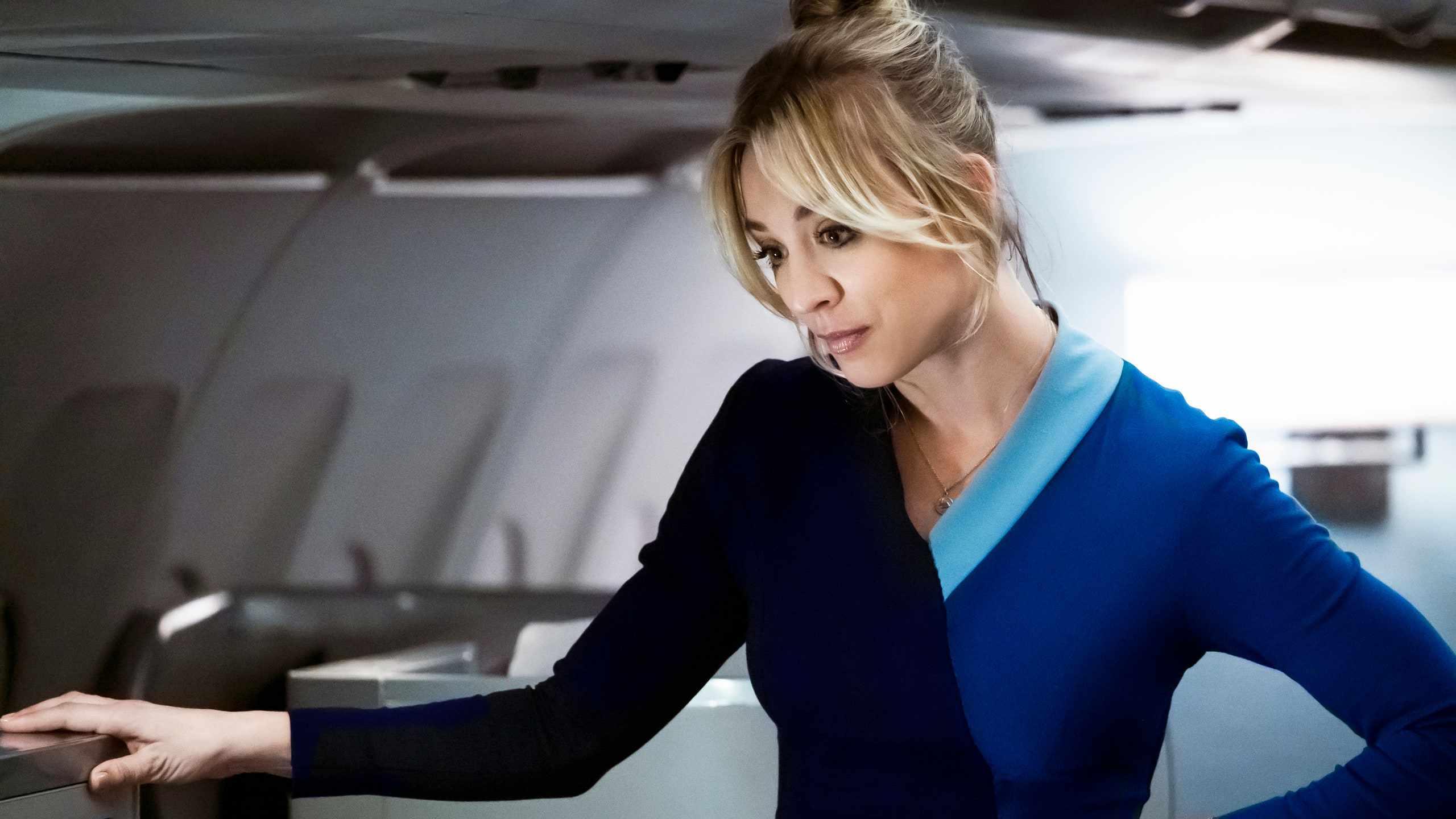 Kaley Cuoco in The Flight Attendant (2020)