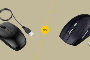 Wired vs. Wireless mice