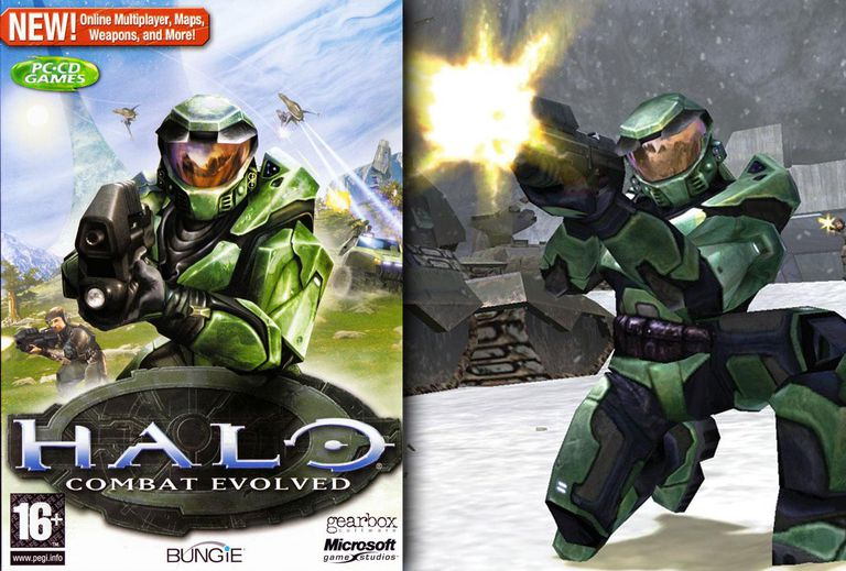 Halo: Combat Evolved box cover art