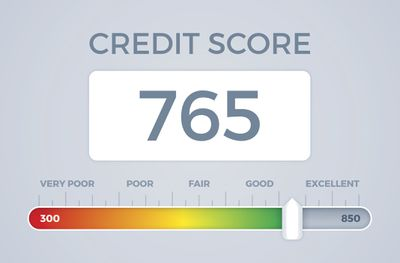 A good credit score.