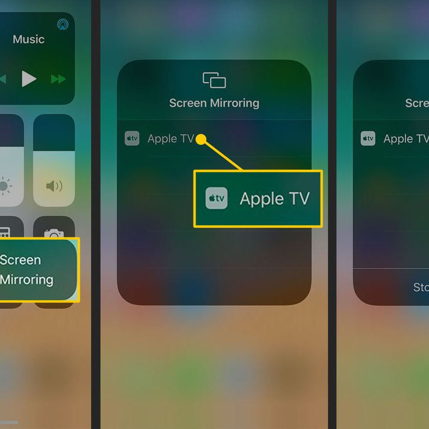 Apple Airplay And Mirroring, How To Use Screen Mirroring On Ipad Without Apple Tv
