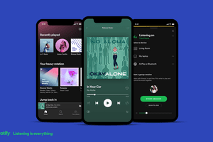 Spotify mobile app overview