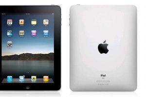 The Apple iPad tablet