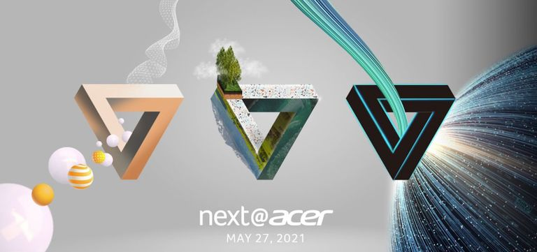 The Next@Acer logo for the May 2021 event.