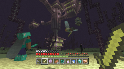 Screenshot from Minecraft