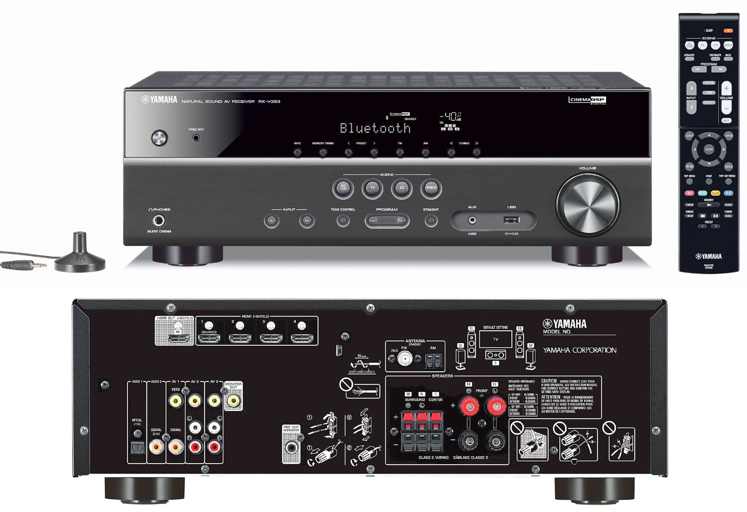 the 10 best home theater receivers for under 400 to buy. Black Bedroom Furniture Sets. Home Design Ideas
