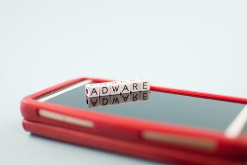 Adware concept image