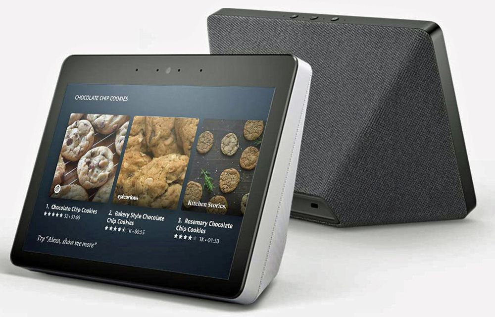 Amazon Echo Show 2nd Generation Design Example