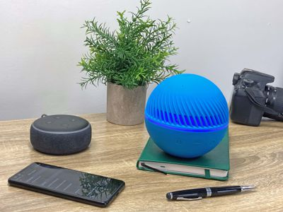Pairing an Echo Dot to a Bluetooth speaker.