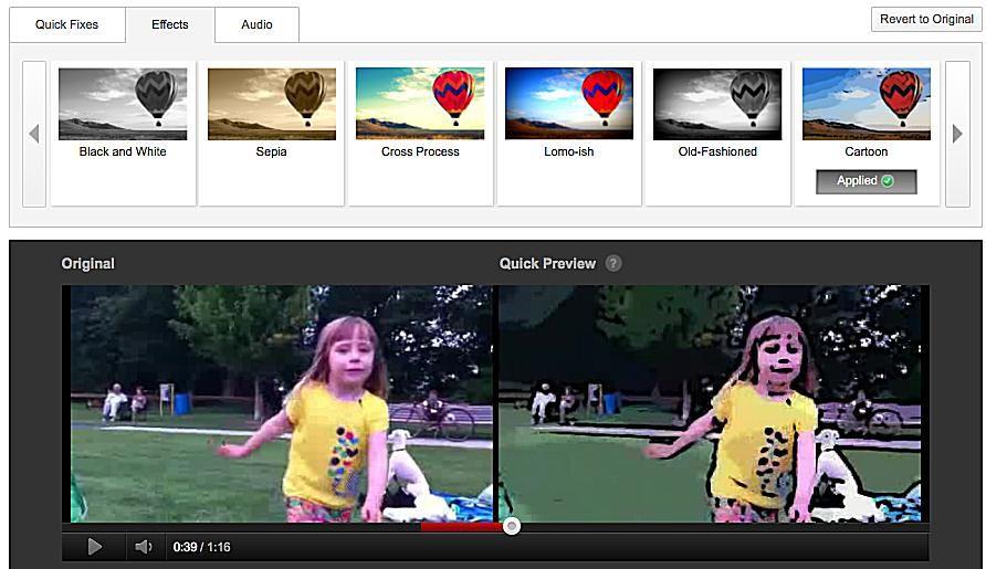 edit youtube video keep url