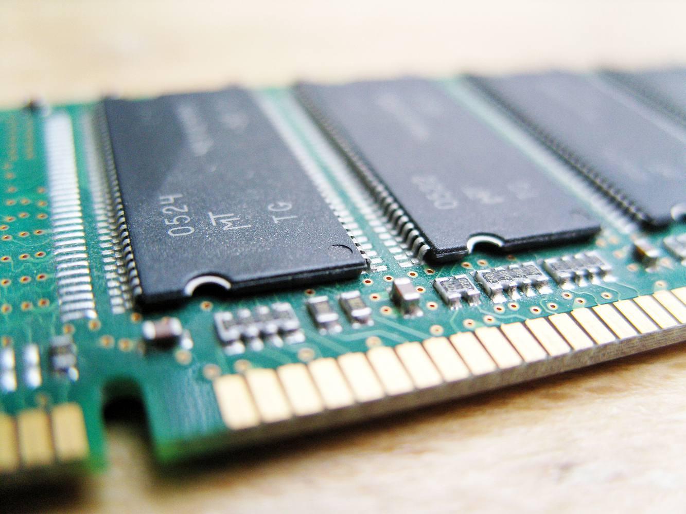 RAM circuit board assembly
