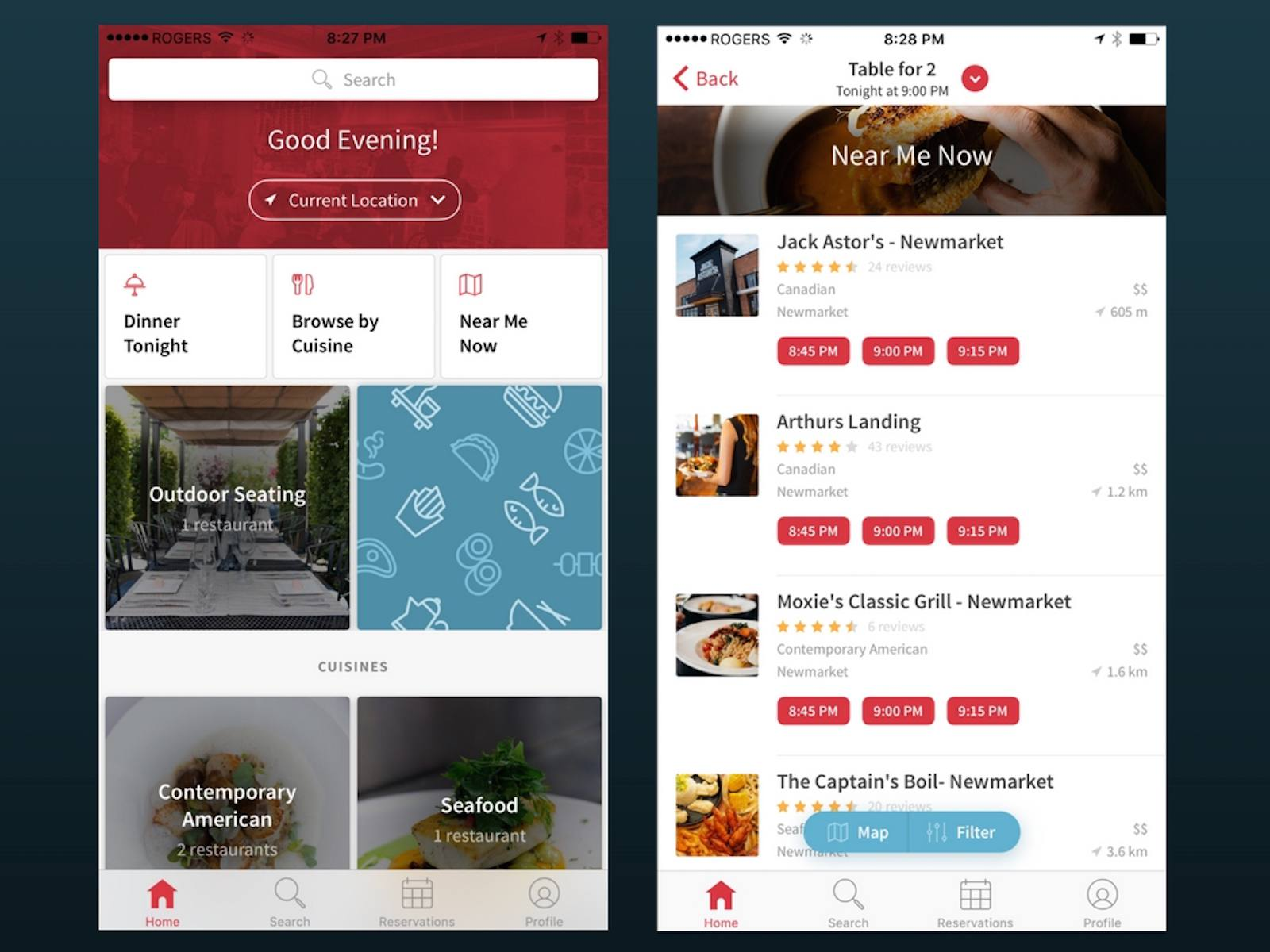 OpenTable for iOS