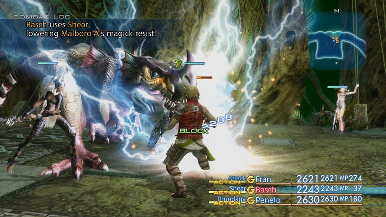 Screenshot of Final Fantasy XII