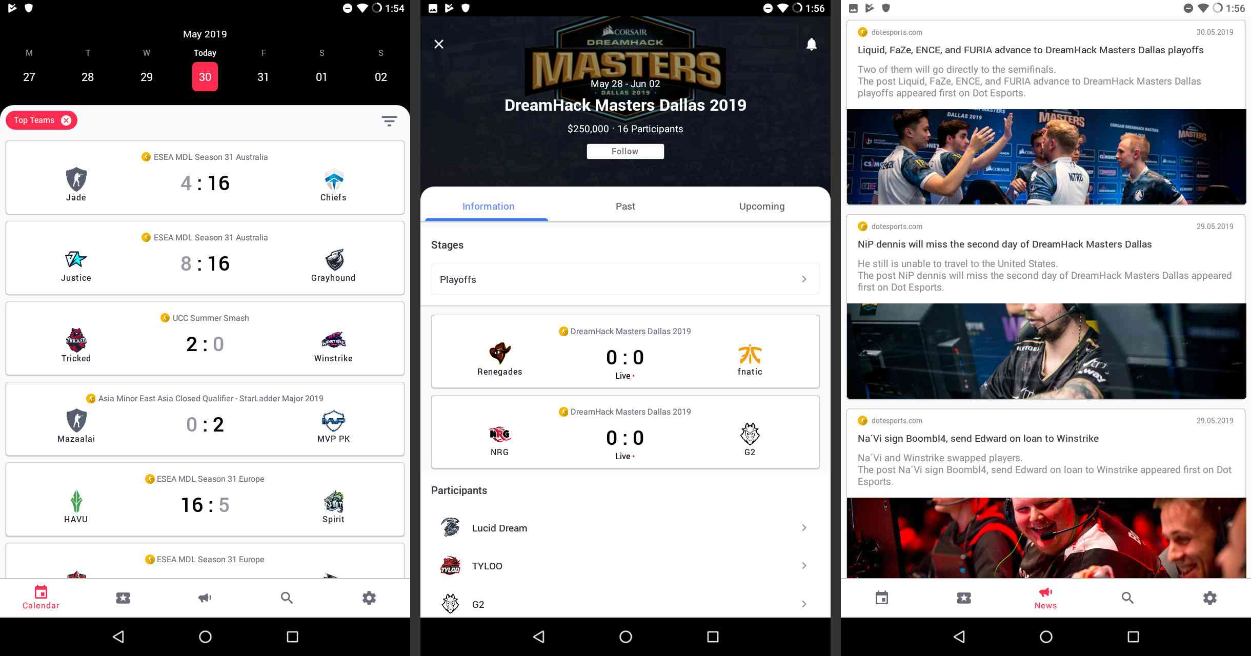 eForce Esports on Android