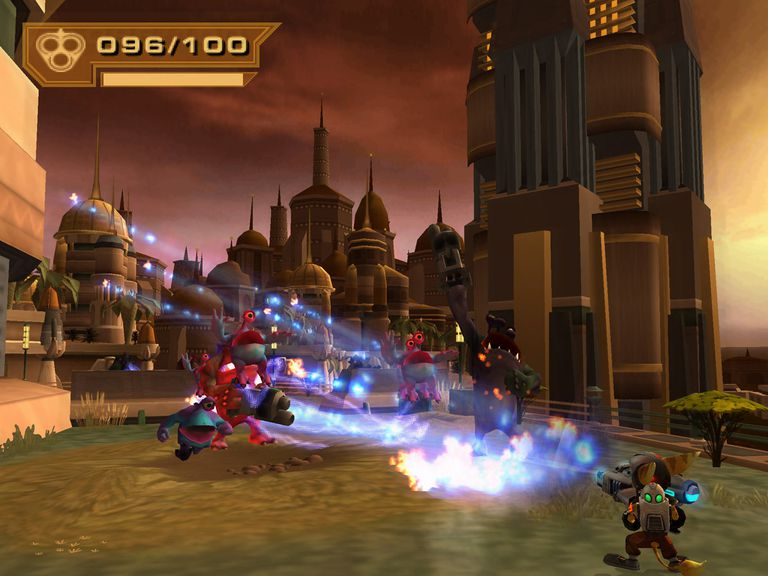 Screenshot from Ratchet & Clank: Up Your Arsenal
