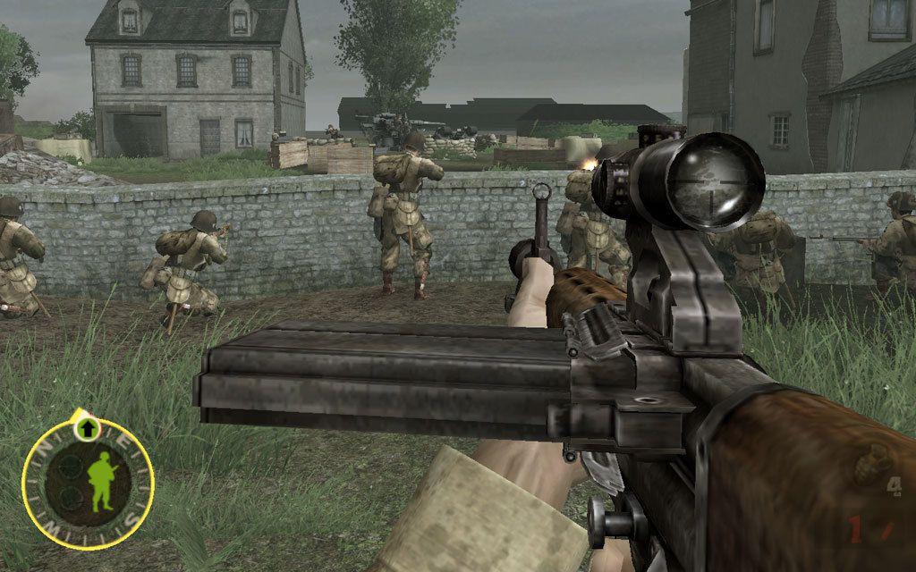 Top World War II First Person Shooter Games