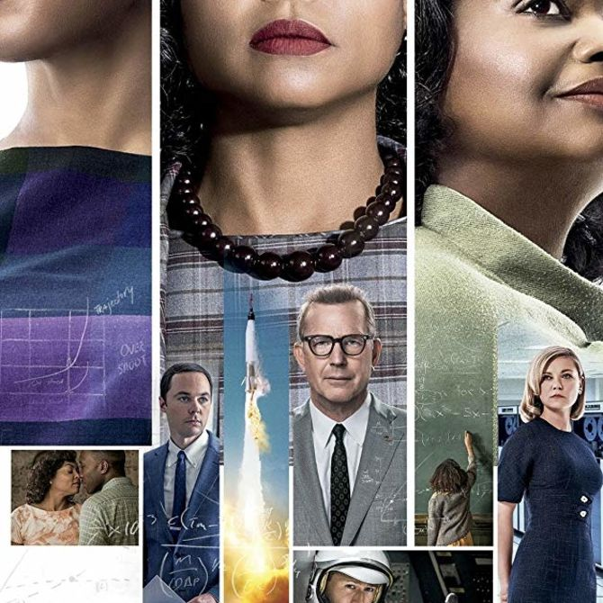 Promotional image for the film Hidden Figures